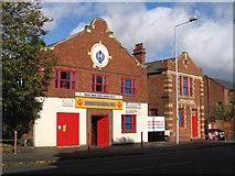 SO9596 : Bilston - former tram depot on Mount Pleasant by Dave Bevis