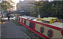 SE1338 : Leeds Liverpool Canal, Saltaire by michael ely