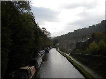 SD9926 : Rochdale Canal, Hebden Bridge (3) by Richard Vince