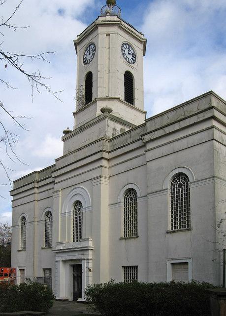 Bilston - St Leonard's Church - west end