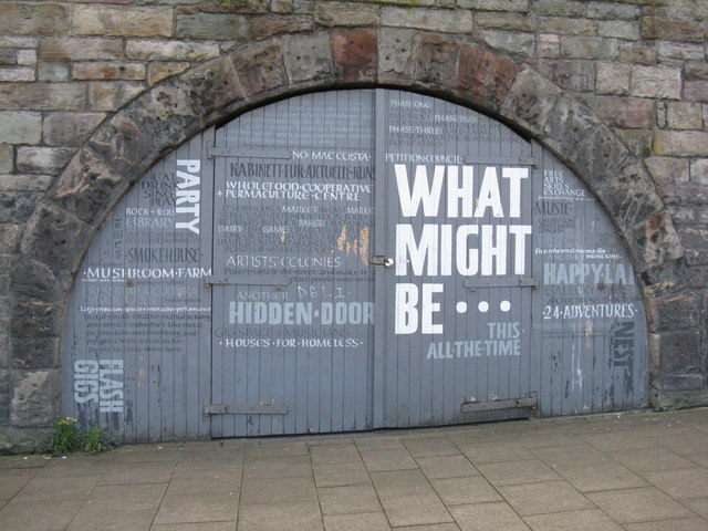 What might be... - the fourth arch on East Market Street