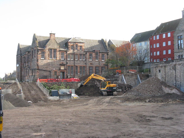 Demolition site, East Market Street