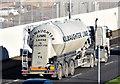 J3775 : Lime tanker, Sydenham bypass, Belfast (November 2014) by Albert Bridge