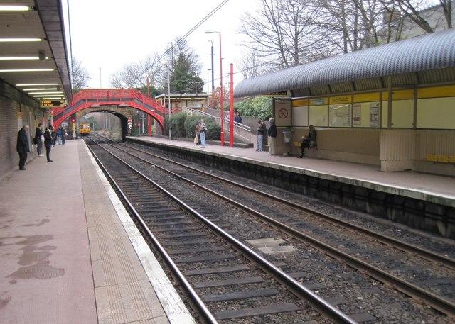 South Gosforth Metro station, Tyne & Wear