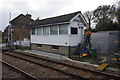 TM3863 : Saxmundham signal box by Ian Taylor