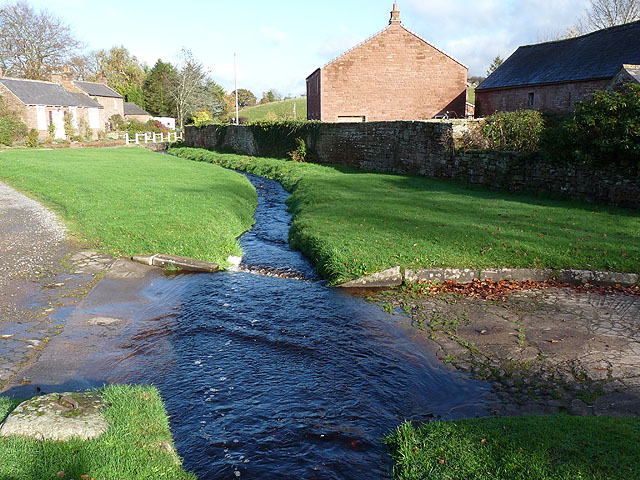 Ford over Cumwhitton Beck