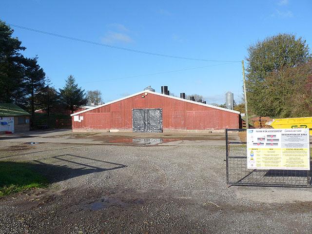Poultry house, Cairnholme Farm