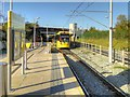 SJ8293 : Metrolink Manchester Airport Line, St Werburgh's Road by David Dixon