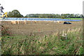 TF8525 : New solar farm at West Raynham by Evelyn Simak