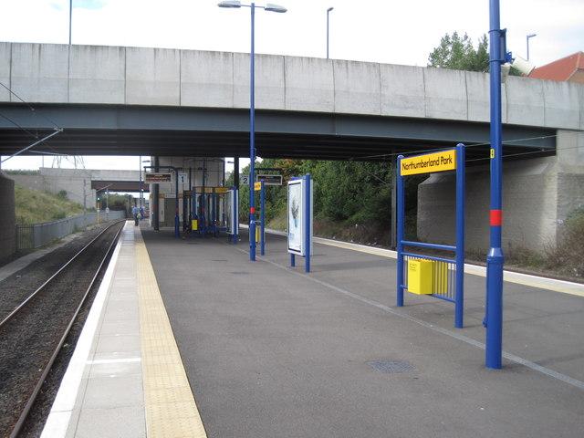 Northumberland Park Metro station, Tyne & Wear