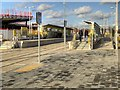 SJ8287 : Wythenshawe Town Centre Tram Stop, Metrolink Airport Extension by David Dixon