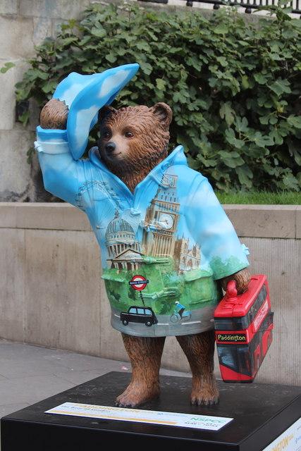 Paddington Bear, Trafalgar Square