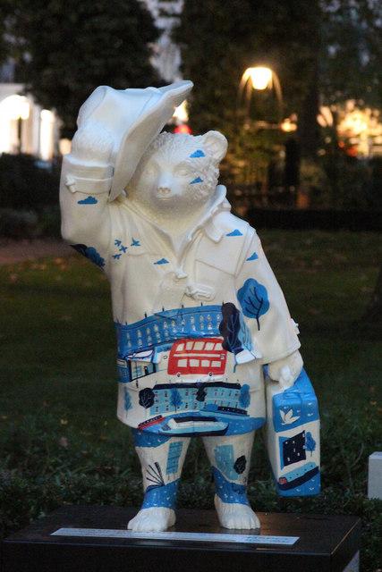 Paddington Bear, Norfolk Square Gardens