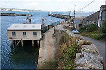 SW4628 : South Pier, Newlyn by Bill Boaden