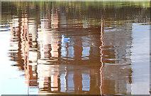 J3371 : Reflection, River Lagan, Annadale/Stranmillis, Belfast (November 2014) by Albert Bridge