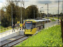 SJ8092 : Metrolink Airport Line, Sale Water Park by David Dixon