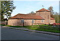 SK7890 : Pigeoncote and stables at Barn House by Alan Murray-Rust
