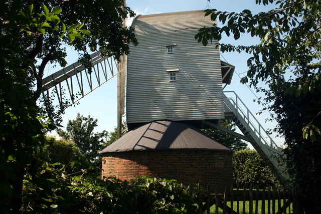 Post Mill, Duck End, Finchingfield