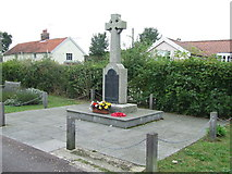 TM3569 : War Memorial by Keith Evans
