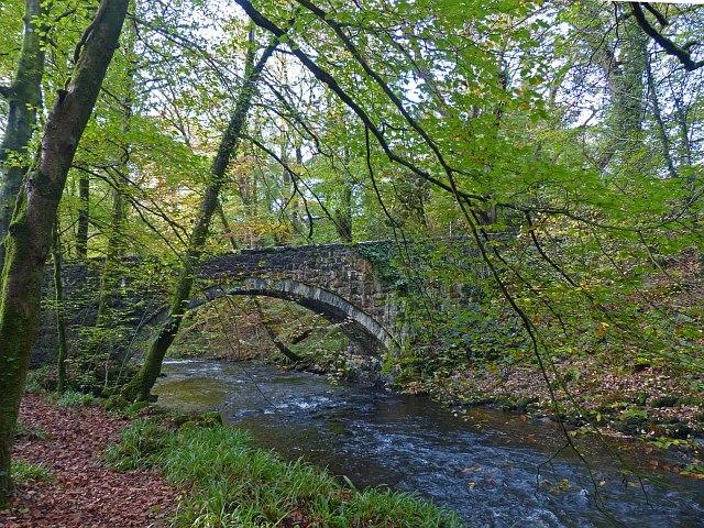 Bridge over Afon Dwyfach