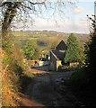 SX3769 : Dupath Farm by Derek Harper