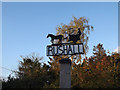 TM1982 : Rushall Village sign by Adrian Cable