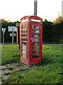 TM1982 : Rushall Telephone Box by Adrian Cable