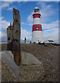 TM4448 : Orfordness Lighthouse by Ian Taylor