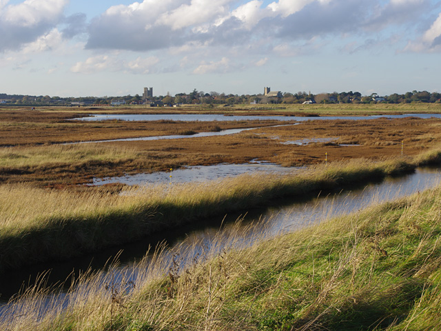 Old airfield, Orford Ness
