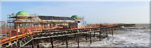 TQ8109 : Hastings Pier reconstruction by Oast House Archive