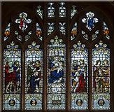 TQ4412 : East Window, St Mary's church, Ringmer by Julian P Guffogg