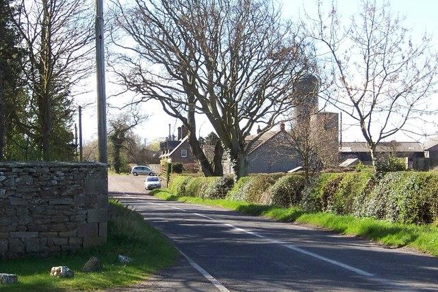 Farm cottages at West Fallodon