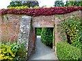 SO5063 : Doorway, Walled Garden, Berrington Hall by nick macneill