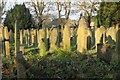 SK2796 : Bolsterstone Churchyard by Dave Pickersgill