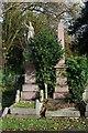 TQ3675 : Brockley Cemetery graves by Julian Osley