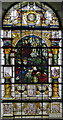 TQ4509 : Stained glass window, St Mary's church, Glynde by Julian P Guffogg
