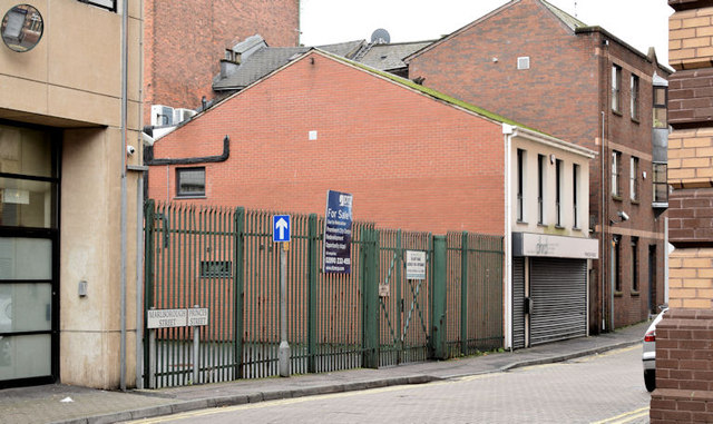 Development site, Prince's Street, Belfast (November 2014)