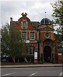 TQ3674 : Crofton Park Library by Julian Osley