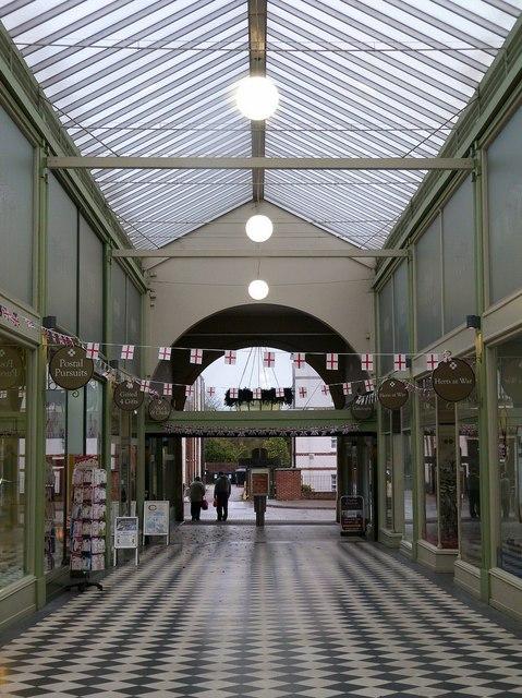 The Arcade, Letchworth