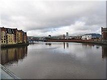 J3473 : The River Lagan downstream of the Albert Bridge by Eric Jones