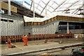 SJ8499 : Victoria Station Refurbishment, November 2014 by David Dixon