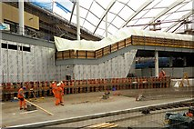 SJ8499 : Victoria Station Refurbishment, November 2014 by David Dixon