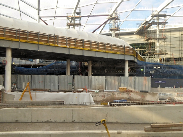 Redevelopment at Manchester Victoria, November 2014
