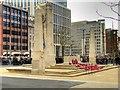 SJ8398 : Manchester Cenotaph, Remembrance Sunday by David Dixon