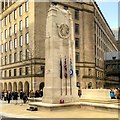 SJ8398 : The War Memorial (Cenotaph), Manchester St Peter's Square by David Dixon