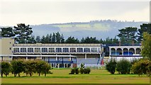 SO4877 : Grandstand, Ludlow Racecourse by nick macneill