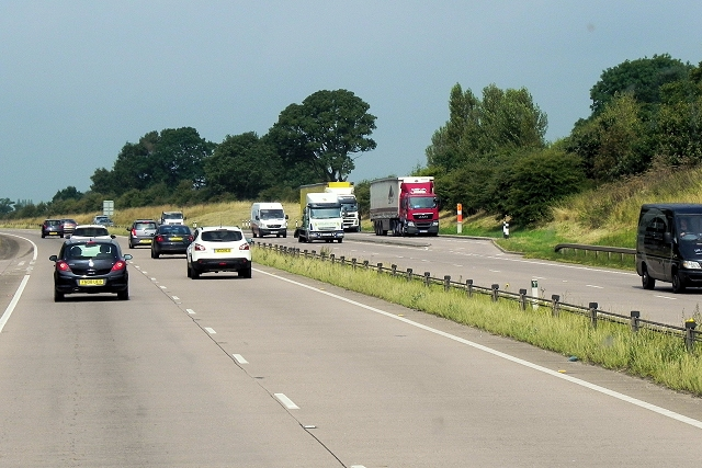 Layby on the Eastbound A50