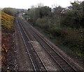 SS9681 : Railway ENE of Penprysg Road, Pencoed by Jaggery