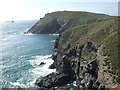 SW8575 : Dinas Head by Matthew Chadwick