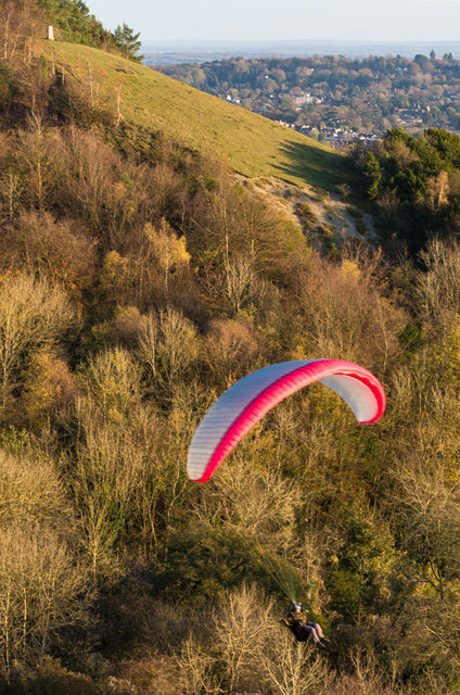 Paraglider, Colley Hill